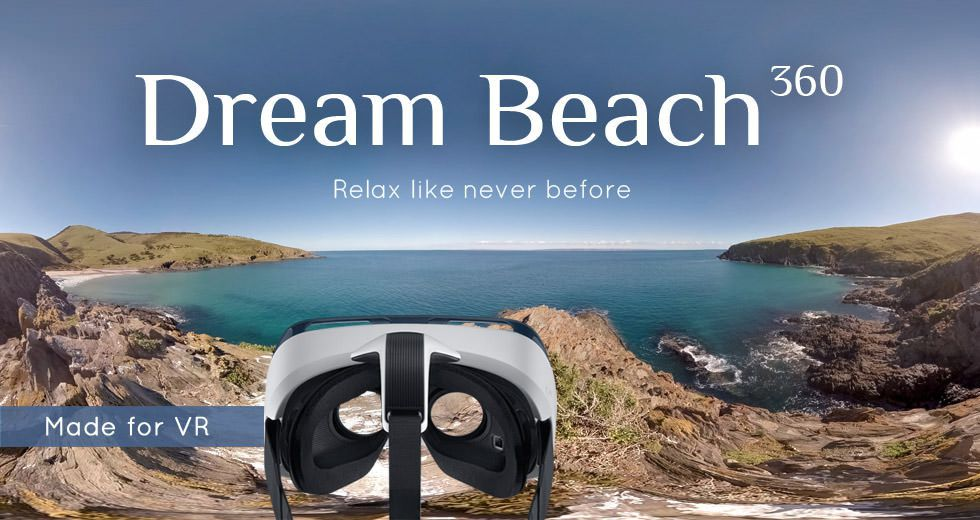 Dream Beach 360 - Virtual Relaxation Video