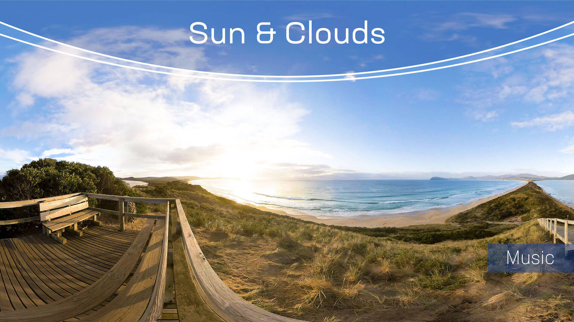 Sun & Clouds 360° Timelapse - An Immersive 360/VR Experience