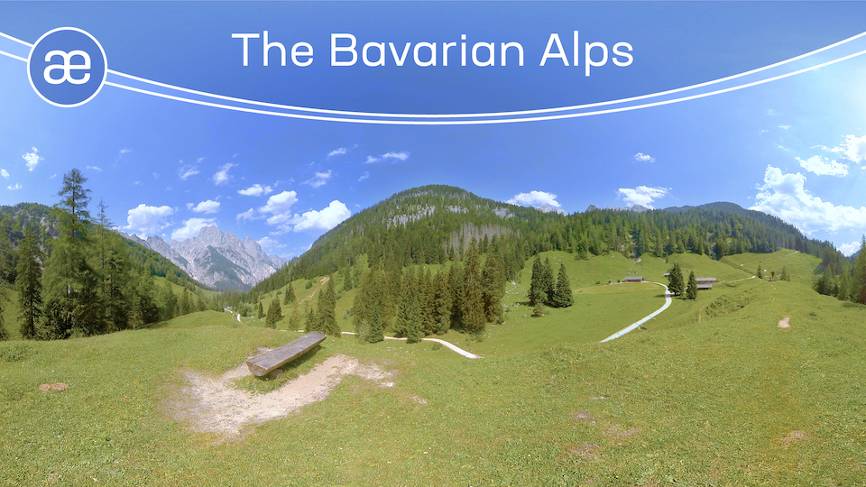 The Bavarian Alps | VR Relaxation | 360° Video