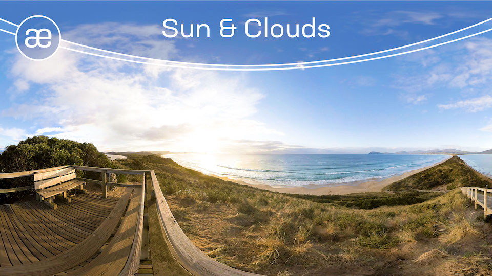 Sun & Clouds Timelapse | VR Travel | 360° Video