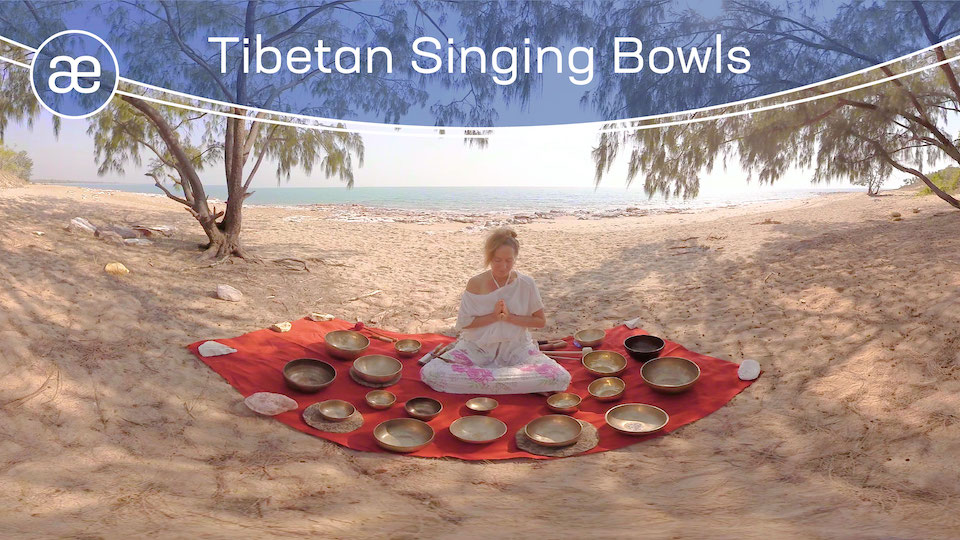Tibetan Singing Bowls | VR Relaxation | 360° Video
