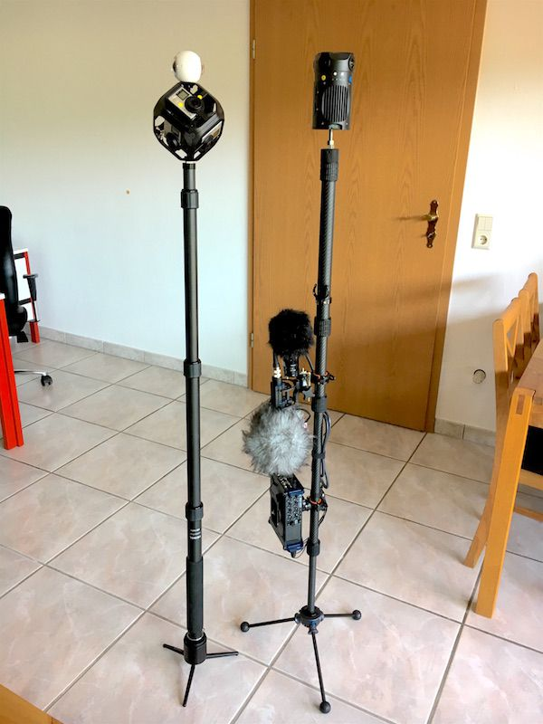360 Video Production Equipment