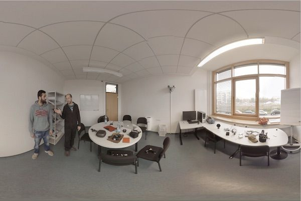 One of our 360 video training rooms