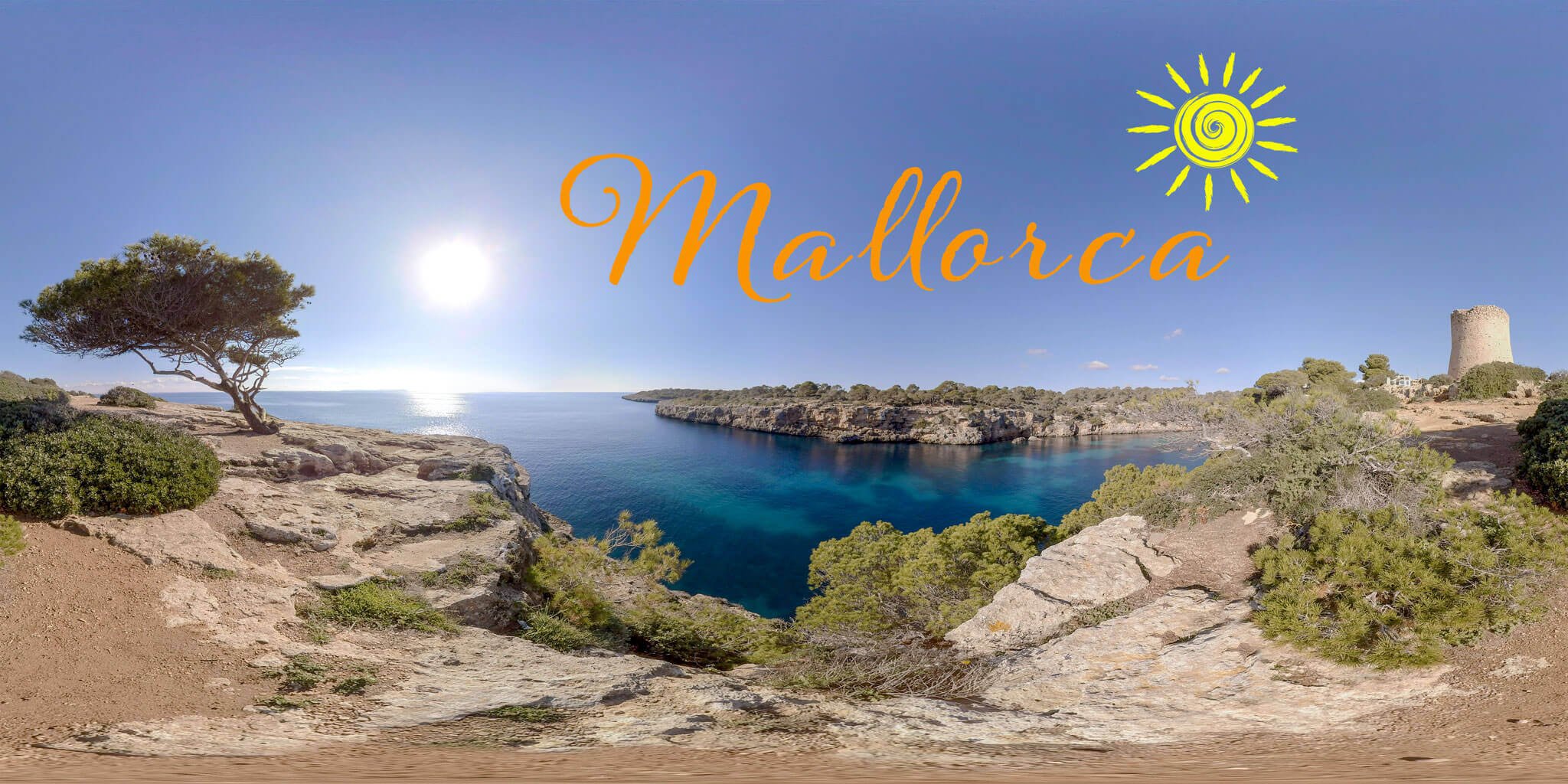 Mallorca | VR Relaxation | 360° Video | VR Nature