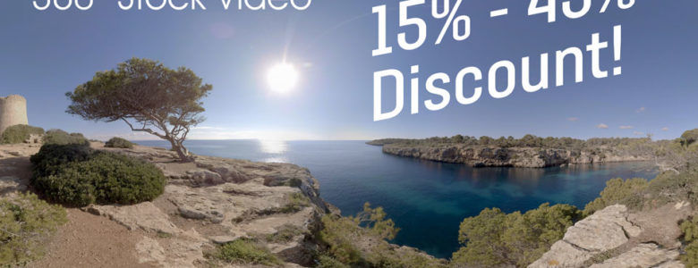 15%-45% DISCOUNT ON ALL STOCK VIDEOS!