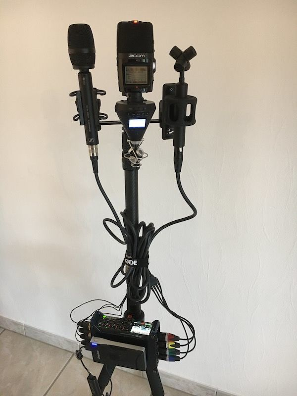 Spatial Audio Microphones Setup