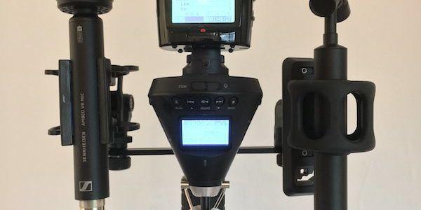 Spatial Audio Microphones Setup 2