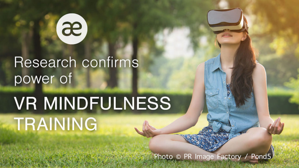 Research confirms power of VR Mindfulness Training